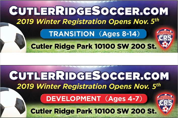 WINTER RECREATIONAL REGISTRATION NOW OPEN